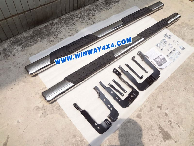 stainless steel side step for car universal