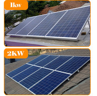 monocrystalline solar panel mono 100w 200w 300w for home system