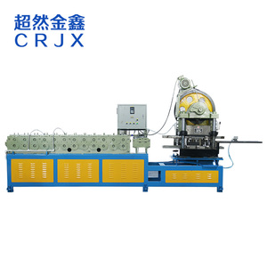 Heavy duty automatic roll forming drawer slide making machine