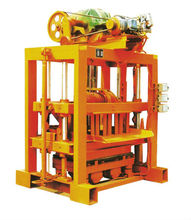 QTJ4-40II Raw materials hollow manual concrete block machine in Nigeria