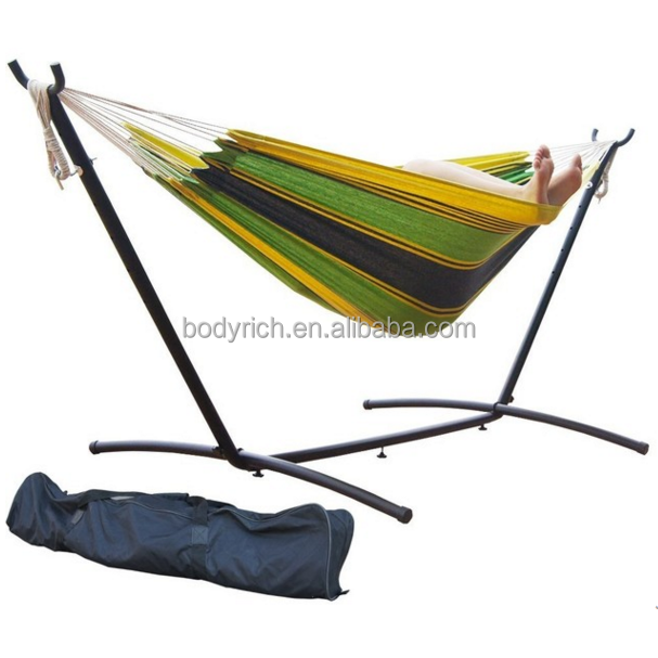 Outdoor Travel Camping Hammock Garden Portable Cotton Hang Sleeping Bed