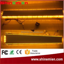 "55"" 1400MM 104W Car Truck Roof Flashing Emergency Light Bar 104 LED strobe flash warning lights DC 12V 24V Amber"