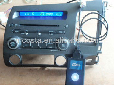 Bluetooth Car Kit Support USB/SD/Aux/iPhone 5 (China Supplier)