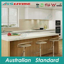 AIS-KC-568 Competitive price melamine kitchen cabinet, kitchen wall cupboard, Australian standard