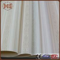 3d pvc wallpaper Wallcovering with Gardon Country Style