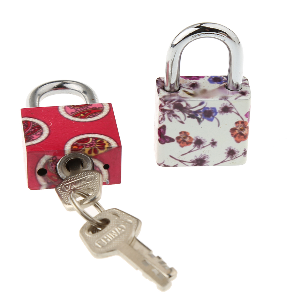 CH-HB30 Iron key padlock with colorful printing