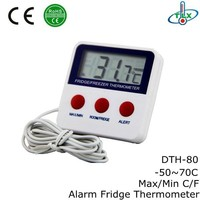 DTH-80 refrigerator mini wire thermometer,mini wire thermometer with magnet,mini wire thermometer