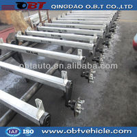 rubber torsion axle cargo trailer