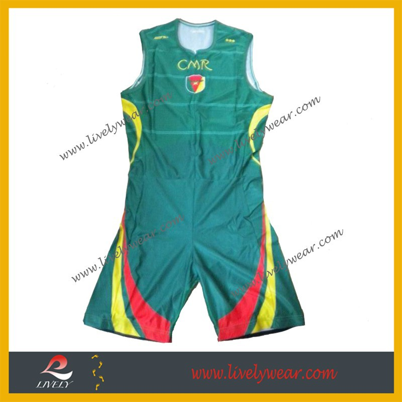 Lively professional OEM cheap china wholesale clothing sublimation Spandex compression triathlon race suit
