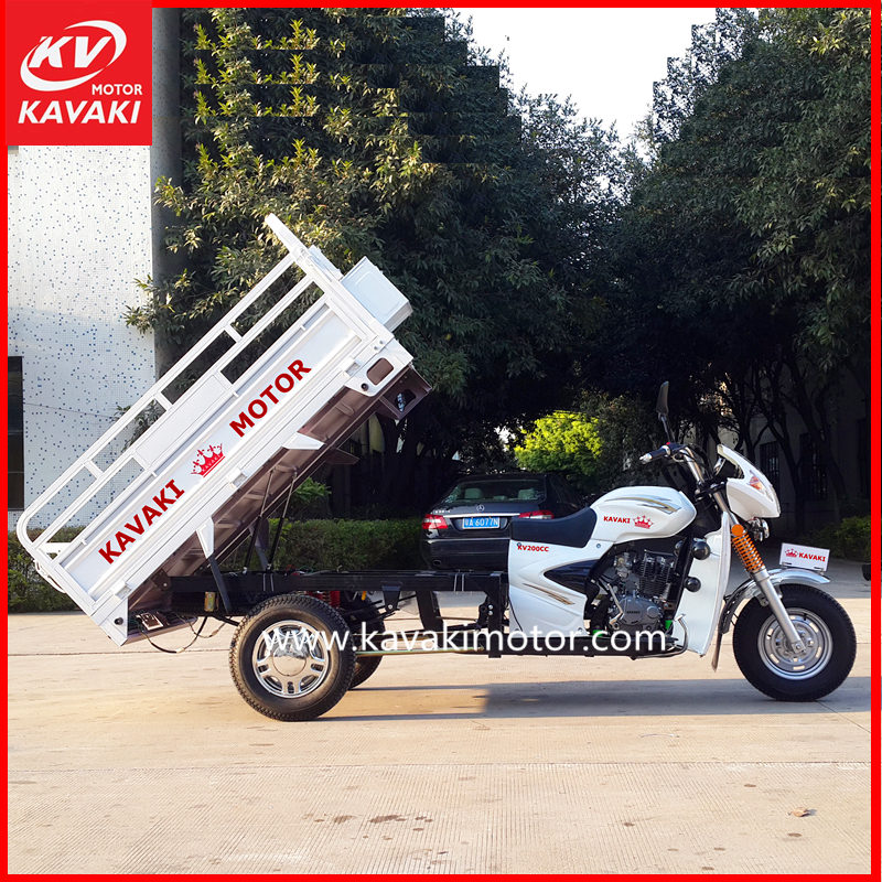 Cheap 3 wheel smart gear trike 200cc automatic motorcycle gas powered cargo tricycle for adult