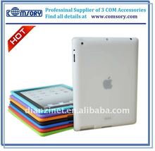 Slim Fit flex case for iPad 2 silicone case for iPad 2 skin cover case for tablet netbook