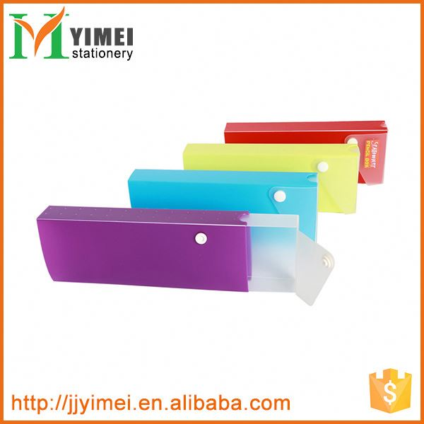 New and hot OEM design kids plastic pencil case made in china