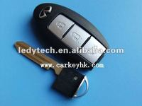 New Style Infiniti smart 3 button remote control key shell &car key &remote key blank