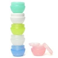 Hot Sale!!! Empty Jar Pot Cosmetic Cream Bottle Container Screw Lid With Inner Lid 5ml Excellent Quality