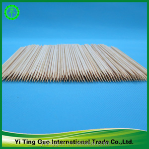 food grade natural color bamboo flower stick bamboo skewer for fruit pick for wholesale