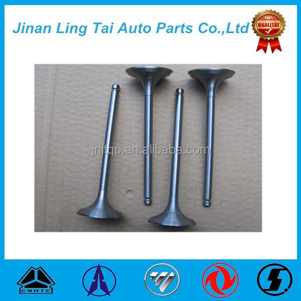 Hot sell truck parts intake and exhaust engine valve