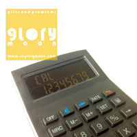 BLUE BIG DISPLAY 8 DIGIT DESIGNER DESKTOP CALCULATORS