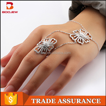 Most selling product in alibaba website natural stone silver jewelry bracelet with ring vietnam jewelry