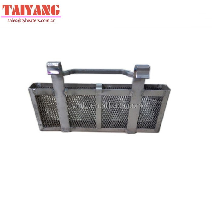 round and square shape titanium anodizing rack titanium electrolyzer basket
