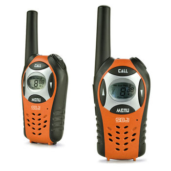 long distance 8 channels lcd backlight vox ptt phone 2 way radios pmr walkie talkie 5km