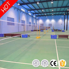 Best choice durable international standard badminton court flooring for sale