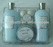 Spa Gift Set for Foot/Feet--foot scrub+foot lotion
