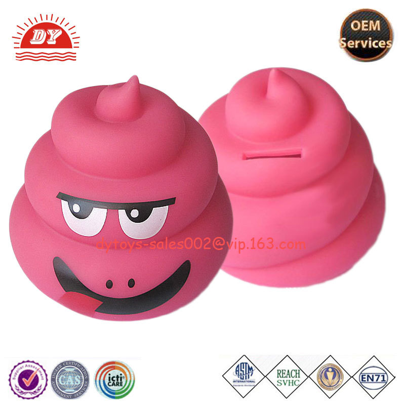 Cheap Custom Made High Quality Novelty Coin Bank for Kids