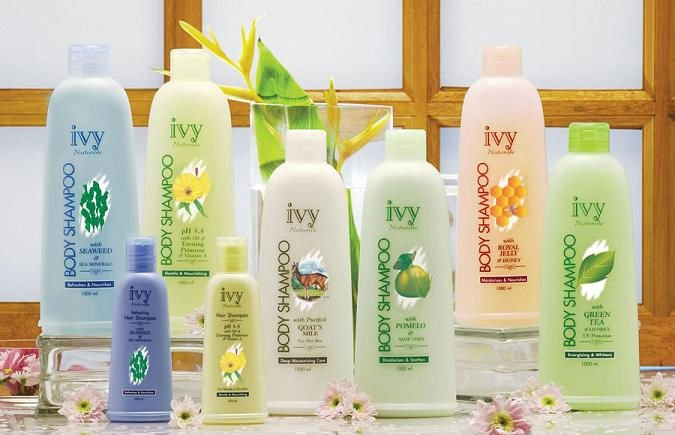 Ivy Naturale Body Care Products