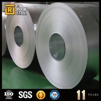 low carbon material narrow galvanized steel coil and strip