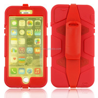 New hard heavy duty dual Layer Shockproof Armour cool Case Cover For iPhone 6 Plus 5.5