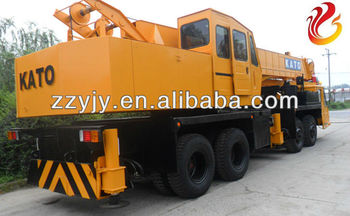 Kato 50 tons Japan used truck crane/mobile crane