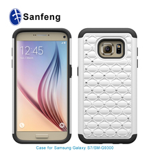 Wholesale Rhinestone cell phone bling cases for Samsung Galaxy S7