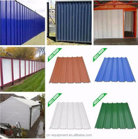 ISO certificate plastic pvc sheet/upvc insulated roof shingle/color roof Philippines