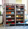 Canvas Shoe Rack for 36 Pairs of Shoes