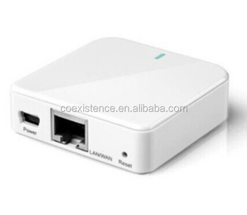 portable small size mini wifi router with serial port oem odm design