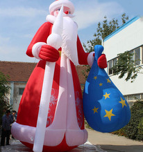 christmas party decoration giant inflatable santa