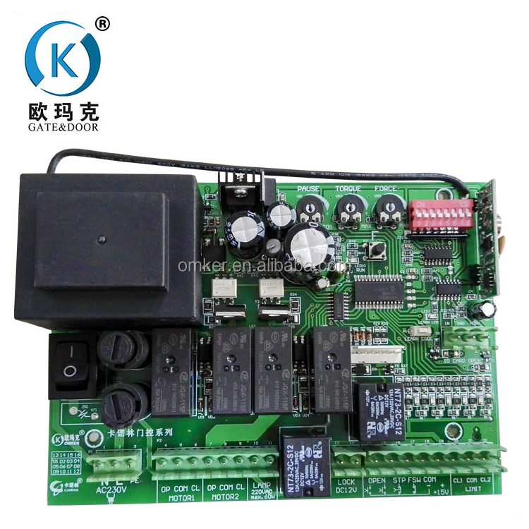 OEM Control Panel Swing Gate Motor Sliding Gate Control Board