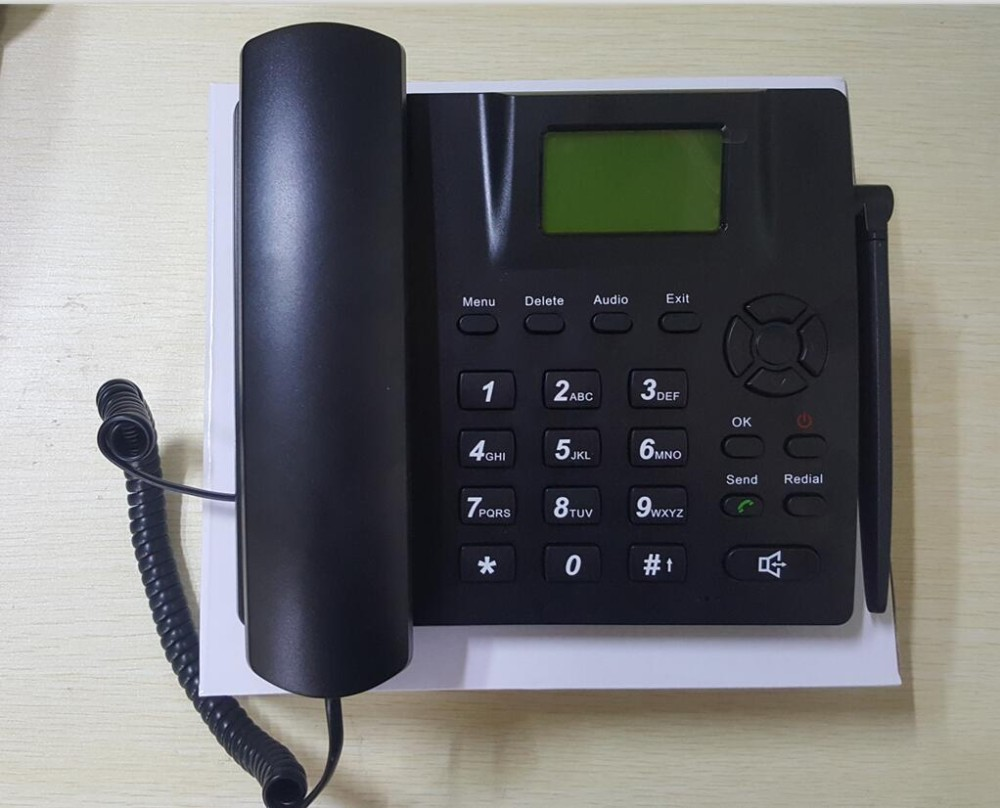 Multi Language 2G or 3G WCDMA Wireless desktop home phone