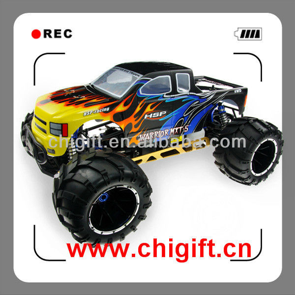 1:5 gas Engine 4WD RC Monster Truck