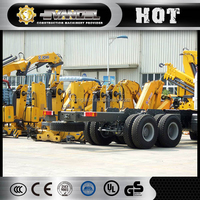 hot sell xcmg knuckle boom type truck mounted crane sq12zk3q