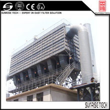 SUNRISE PWW pulse jet baghouse dust collector systems