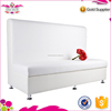 Wholesale Qingdao Sinofur white faux leather booth sofa for restaurant