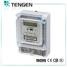 Hot sales good price high quality single phase stop electric meter DDS686L power meter