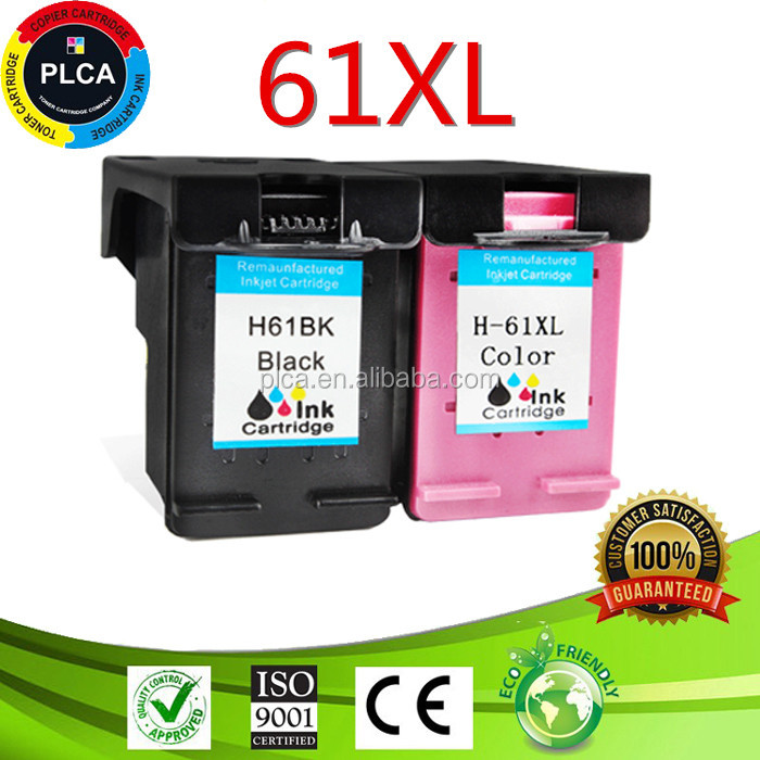 ink cartridge 61XL For HP 1000 1050 1010 2620 1510 printer