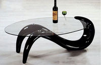 Fancy fish shape fiber glass animal coffee table