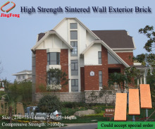 Sintered shale wall face brick