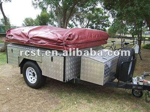 soft floor off road camper trailer