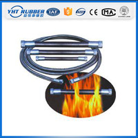 China supplier antiflaming fireproof rubber hose for high pressure working and assembly