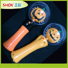 holloween decoration flash spinning toy