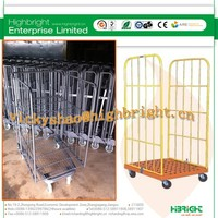 roll pallet cage trolley hotel baggage trolley